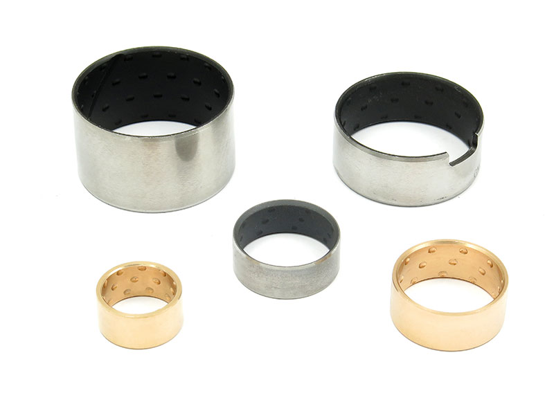 Bushings with indents