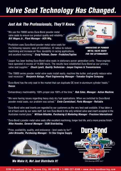 Valve Seat Testimonial Ad