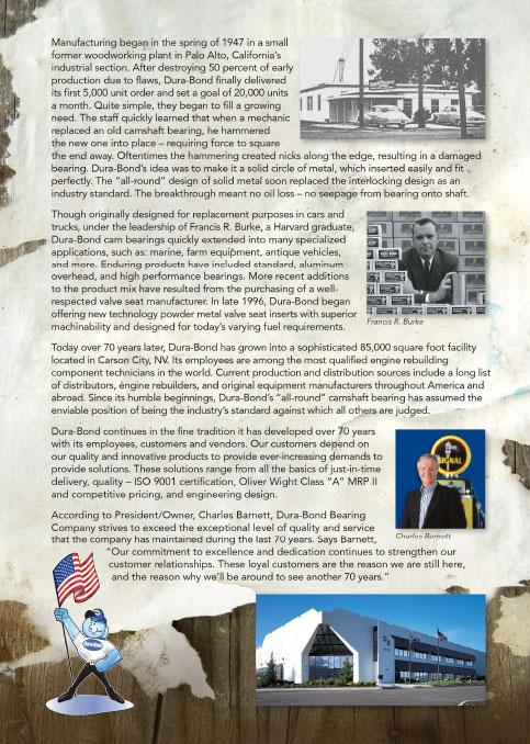 Dura-Bond History
