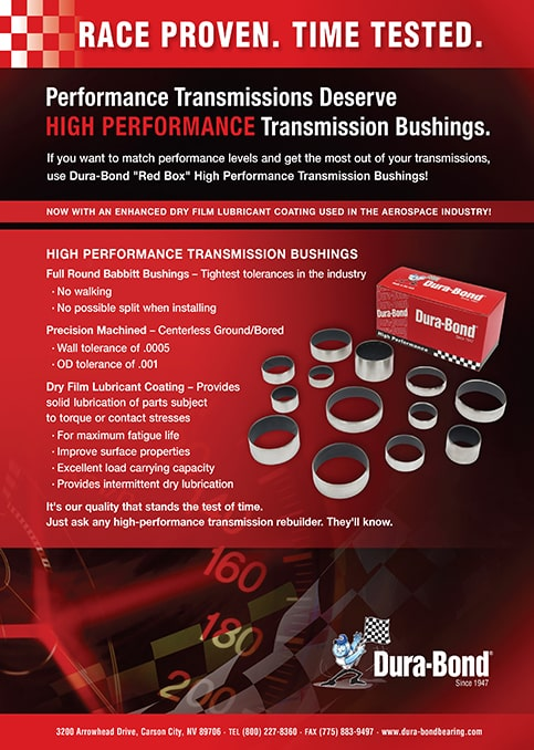 High Performance Transmission Bushings